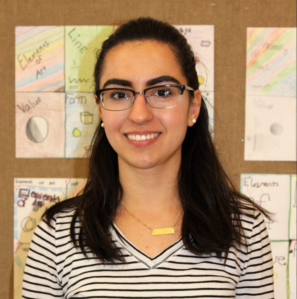 Image of Rookie Teacher of the Year Kirstie Martinez